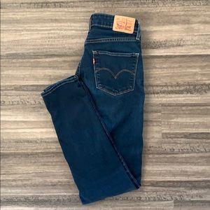 Levi's 721 Dark Skinny Jeans